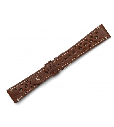 Vintage greasy leather strap