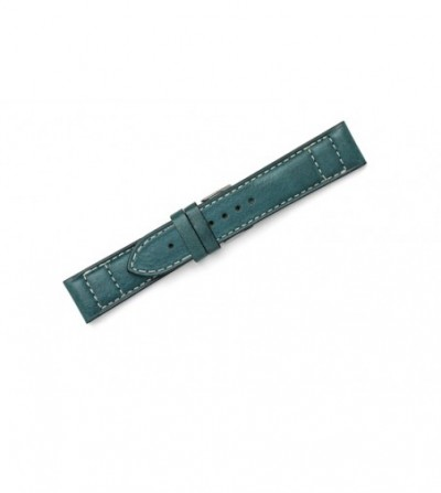 Vintage strap with double contrast stitching