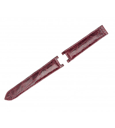Genuine crocodile strap for Cartier Pasha