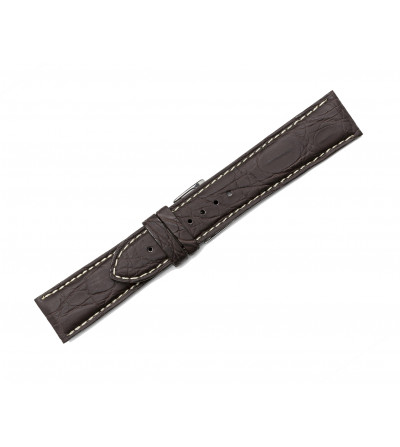 Rubberized crocodile strap